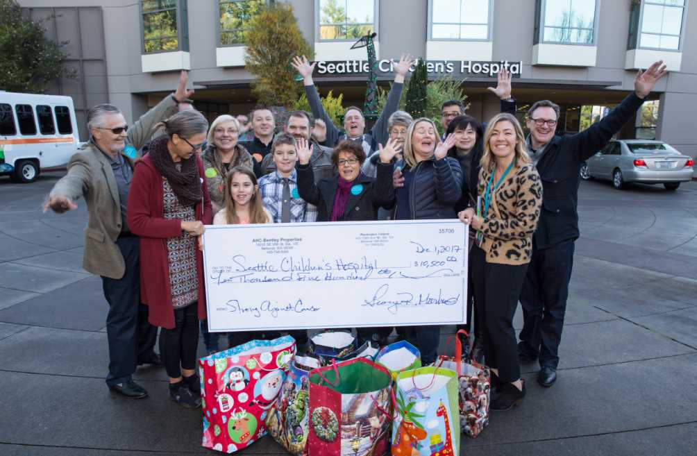 Children's Hospital Cancer Research Donation